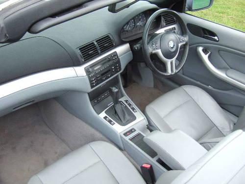 2004 BMW E46 318Ci 2.0 SE Convertible 51,500 miles For Sale (picture 5 of 6)
