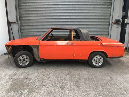 1973 BMW 2002 BAUR CABRIOLET - PROJECT, SAME OWNER 30YR SOLD (picture 1 of 6)