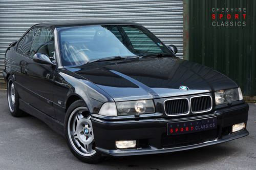 BMW M3 E36, 1993, 115,000 miles, Black 'Vader' Interior, FSH SOLD (picture 1 of 4)