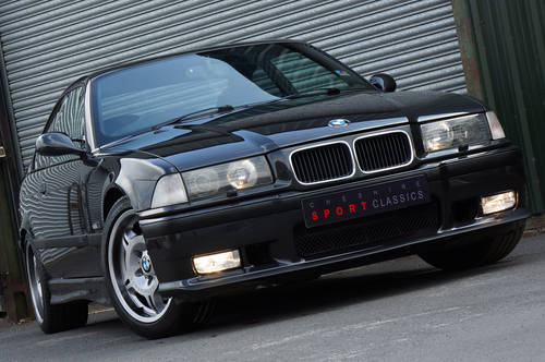 BMW M3 E36, 1993, 115,000 miles, Black 'Vader' Interior, FSH SOLD (picture 3 of 4)