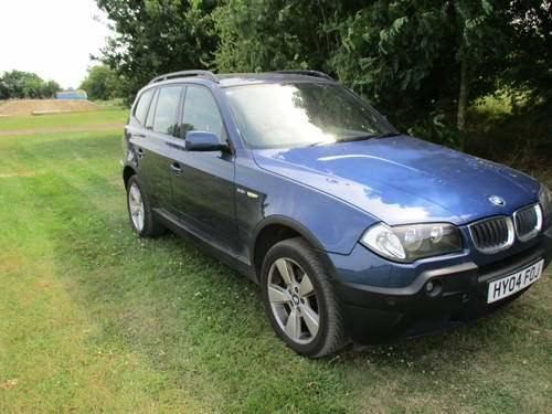 2004 BMW - X3 -4x4 - Long MOT  SOLD (picture 1 of 6)