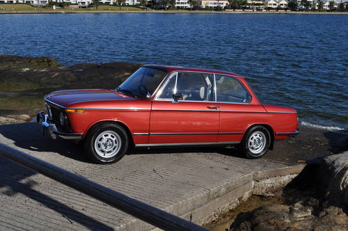 BMW 2002 Tii 1974 RHD Excellent condition with full history SOLD (picture 1 of 6)