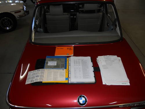 BMW 2002 Tii 1974 RHD Excellent condition with full history SOLD (picture 6 of 6)