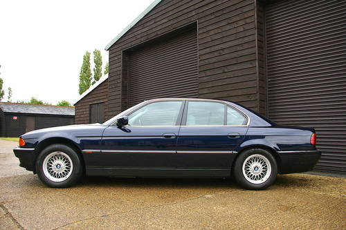 1996 BMW 740i V8 Automatic Saloon (34,782 miles) SOLD (picture 1 of 6)