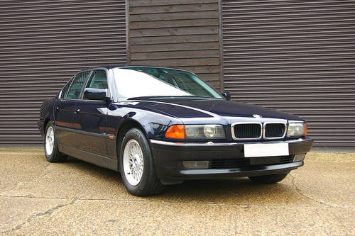 1996 BMW 740i V8 Automatic Saloon (34,782 miles) SOLD (picture 2 of 6)