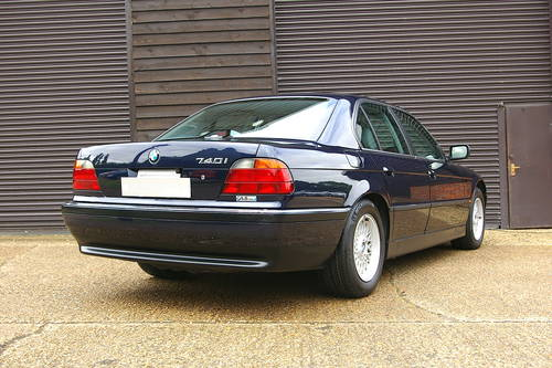 1996 BMW 740i V8 Automatic Saloon (34,782 miles) SOLD (picture 3 of 6)