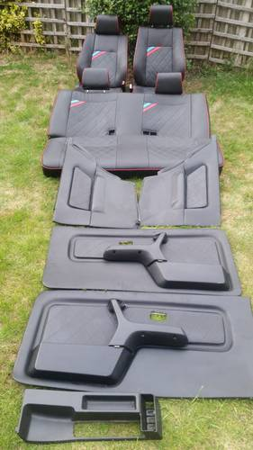 E30 BMW 325i 3DR FULL CUSTOM LEATHER INTERIOR For Sale (picture 1 of 6)