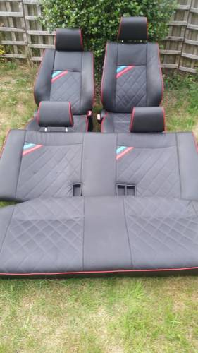 E30 BMW 325i 3DR FULL CUSTOM LEATHER INTERIOR For Sale (picture 2 of 6)