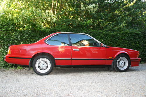 1989 635 csi highline auto - zinnober red, value SOLD (picture 3 of 6)