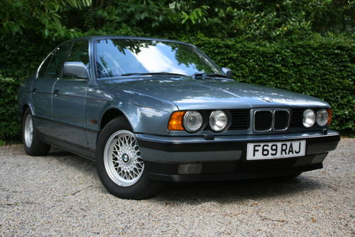 1988 e34 535i se manual - only 82k miles SOLD (picture 1 of 6)