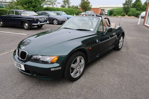 2000 BMW Z3 1.9 Roadster Convertible, 11,822 miles  SOLD (picture 1 of 6)