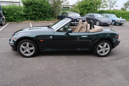 2000 BMW Z3 1.9 Roadster Convertible, 11,822 miles  SOLD (picture 2 of 6)