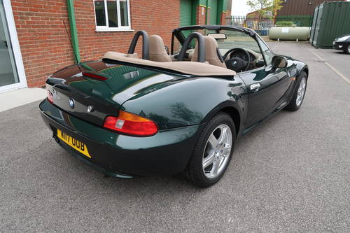 2000 BMW Z3 1.9 Roadster Convertible, 11,822 miles  SOLD (picture 3 of 6)