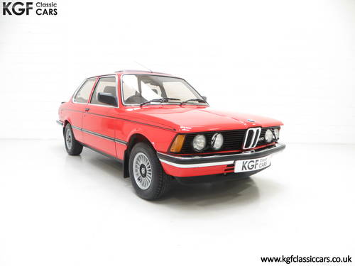 1982 A Superb BMW E21 320 with Just Two Owners and 68,142 Miles SOLD (picture 1 of 6)
