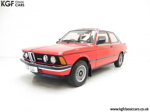 1982 A Superb BMW E21 320 with Just Two Owners and 68,142 Miles SOLD (picture 2 of 6)