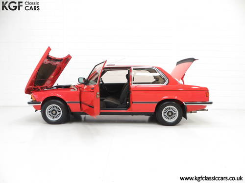 1982 A Superb BMW E21 320 with Just Two Owners and 68,142 Miles SOLD (picture 3 of 6)