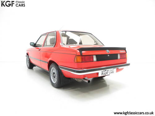 1982 A Superb BMW E21 320 with Just Two Owners and 68,142 Miles SOLD (picture 4 of 6)