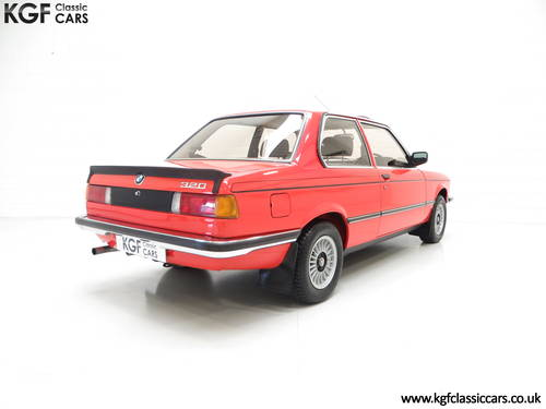 1982 A Superb BMW E21 320 with Just Two Owners and 68,142 Miles SOLD (picture 5 of 6)