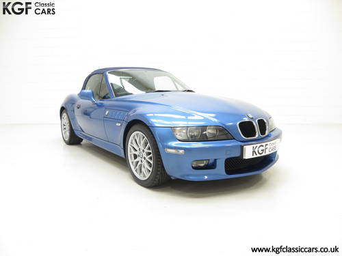 2002 A BMW Z3 2.2i Sport Edition Roadster with 64,863 Miles SOLD (picture 1 of 6)