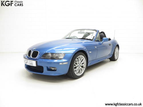 2002 A BMW Z3 2.2i Sport Edition Roadster with 64,863 Miles SOLD (picture 2 of 6)