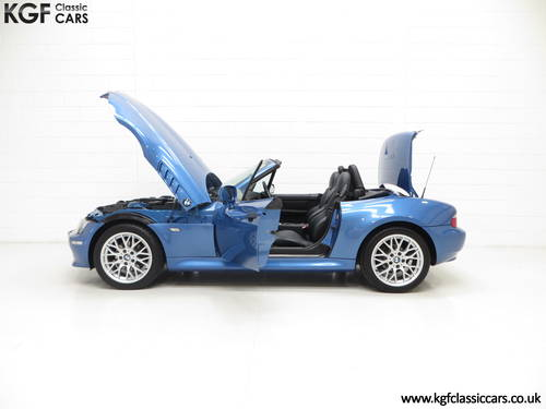 2002 A BMW Z3 2.2i Sport Edition Roadster with 64,863 Miles SOLD (picture 3 of 6)