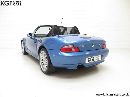2002 A BMW Z3 2.2i Sport Edition Roadster with 64,863 Miles SOLD (picture 4 of 6)
