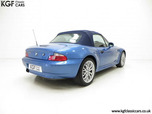 2002 A BMW Z3 2.2i Sport Edition Roadster with 64,863 Miles SOLD (picture 5 of 6)