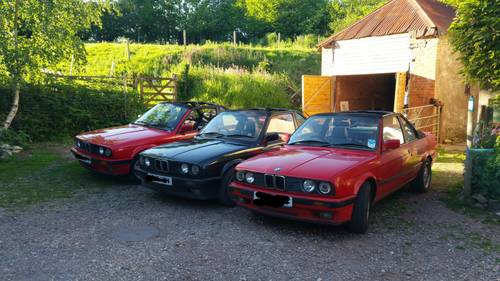 1991 BMW  E30 318iS Baur Convertible - very, very rare! For Sale (picture 1 of 3)
