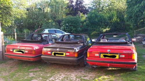 1991 BMW  E30 318iS Baur Convertible - very, very rare! For Sale (picture 2 of 3)