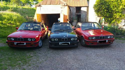 1991 BMW  E30 318iS Baur Convertible - very, very rare! For Sale (picture 3 of 3)