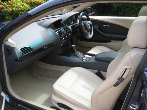 2005 BMW 645CI Auto Coupe With Just 1 Owner From Brand New For Sale (picture 3 of 6)