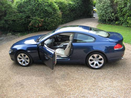 2005 BMW 645CI Auto Coupe With Just 1 Owner From Brand New For Sale (picture 5 of 6)