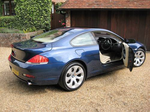 2005 BMW 645CI Auto Coupe With Just 1 Owner From Brand New For Sale (picture 6 of 6)