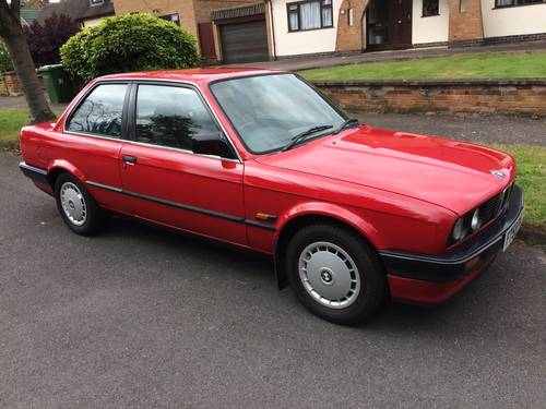 1988 BMW 316 (1.8) E30 Coupe No Sunroof - 97k SOLD (picture 1 of 6)