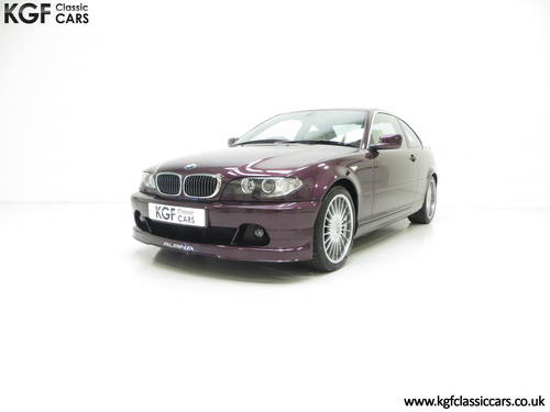 2004 A Very Exclusive BMW E46 Coupe Alpina B3 3.4 S SOLD (picture 2 of 6)