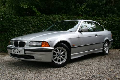 1998 318IS E36 COUPE - SAME OWNER FOR 16 YEARS - ONLY 75K  SOLD (picture 1 of 6)