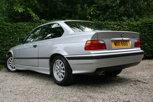 1998 318IS E36 COUPE - SAME OWNER FOR 16 YEARS - ONLY 75K  SOLD (picture 2 of 6)