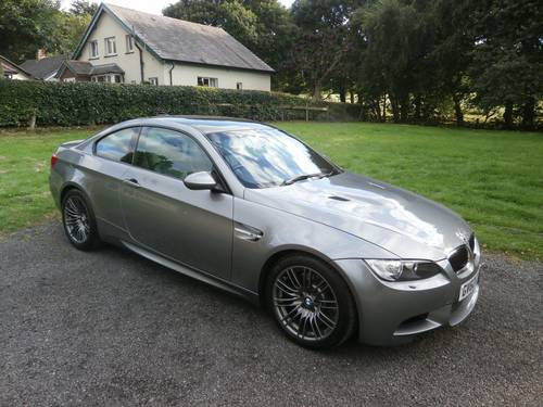 2013 BMW M3 E92 4.0 V8 GREY JUST 6,446 MILES ** CONCOURS ** SOLD (picture 1 of 6)