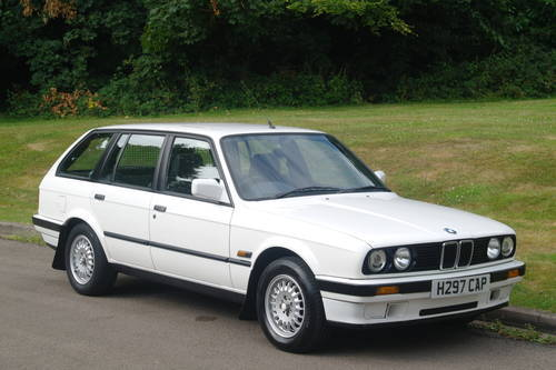 BMW E30 318i TOURING..AUTOMATIC..LOW MILES..FSH SOLD (picture 2 of 6)