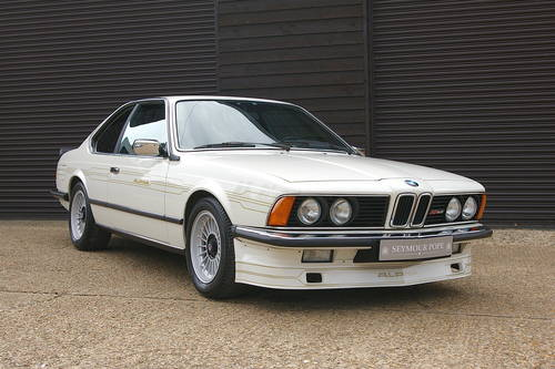1984 BMW Alpina E24 B9 3.5/1 Coupe Auto LHD (51,553 miles) SOLD (picture 2 of 6)