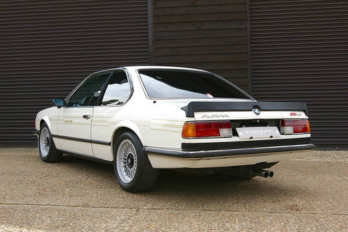 1984 BMW Alpina E24 B9 3.5/1 Coupe Auto LHD (51,553 miles) SOLD (picture 3 of 6)