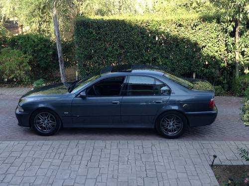 1999 BMW M5 E39 V8 LHD one owner  SOLD (picture 5 of 6)