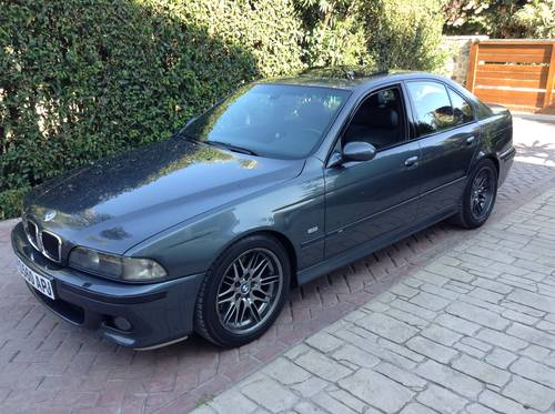 1999 BMW M5 E39 V8 LHD one owner  SOLD (picture 1 of 6)