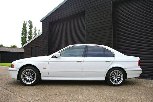 2002 BMW E39 540i HIGHLINE Automatic Saloon (12,000 miles) SOLD (picture 1 of 6)
