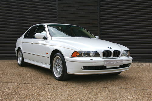 2002 BMW E39 540i HIGHLINE Automatic Saloon (12,000 miles) SOLD (picture 2 of 6)