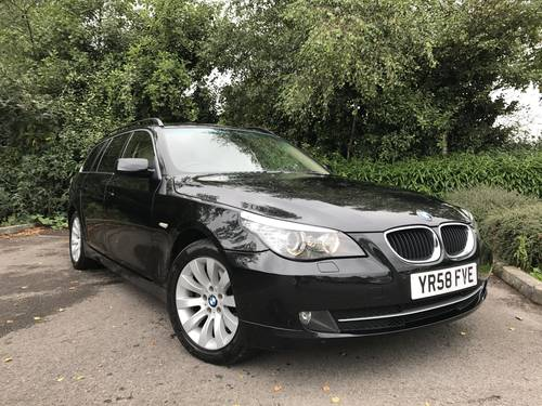 2008 (58) BMW 520d SE Touring 69,000 MILES 1 OWNER For Sale (picture 1 of 6)