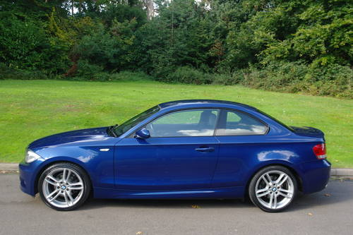 BMW 120d M-SPORT COUPE..1 OWNER.. VERY LOW MILES.. F/BMW/S/H SOLD (picture 1 of 6)