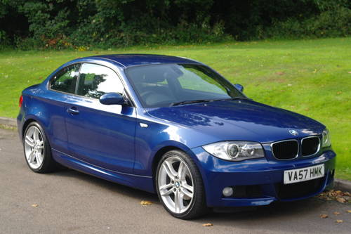 BMW 120d M-SPORT COUPE..1 OWNER.. VERY LOW MILES.. F/BMW/S/H SOLD (picture 2 of 6)