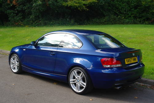 BMW 120d M-SPORT COUPE..1 OWNER.. VERY LOW MILES.. F/BMW/S/H SOLD (picture 5 of 6)