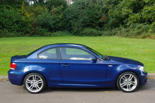 BMW 120d M-SPORT COUPE..1 OWNER.. VERY LOW MILES.. F/BMW/S/H SOLD (picture 6 of 6)